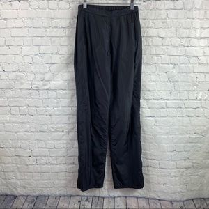 Casall Black Nylon Track Pants